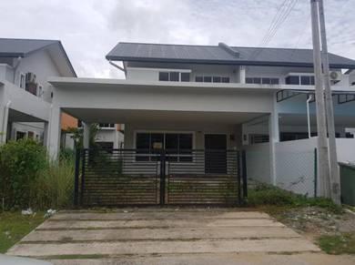 Semi Detached Taman Kasigui, Penampang