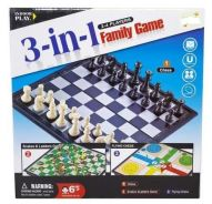 3 in 1 Magnetic Board Games