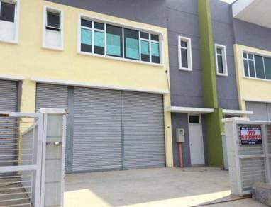 2 storey Factory *Angkasa Nuri_Taman Merdeka_Durian tunggal_Krubong