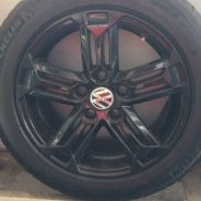 Pilot Sport 3 with Rims VW MK6 Golf
