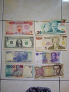 Currency local and international