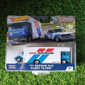 Hot Wheels Team Transport Datsun 510 Fleet Flyer