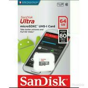 64GB Micro SD Memory Card SanDisk NEW