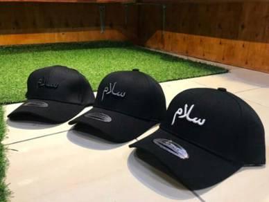 Ready stock topi sulam jawi salam