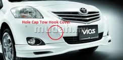 Toyota Vios Front Bumper Hole Cap Tow Hook Cover