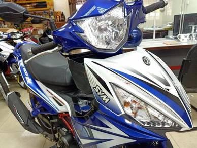 SYM Sport Rider125i FI 100% Ori Lasak 8K Mileage