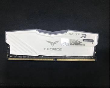 RAM T-Force Delta RGB 8GB DDR4 3000MHz RGB CL16