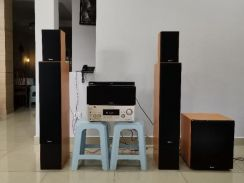 Sony & Rogers Home Theater System