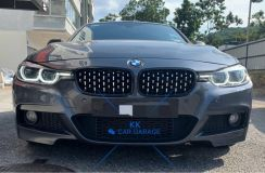 Bmw f30 m-sport m-performance bumper w lip bodykit