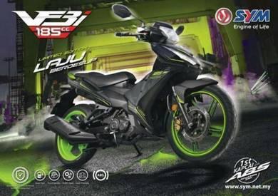 SYM VF3i 185 Limited Edition ABS 19.7HP+171kmph???