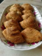 Home made curry puff