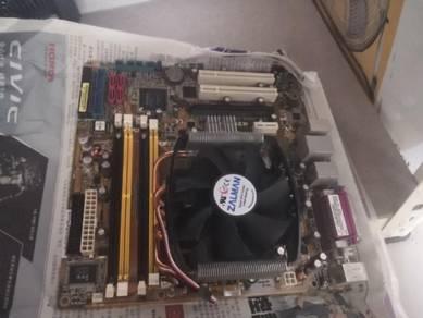 Asus AMD mainboard + cpu
