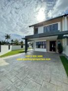 NEW 24hrSecurity Urban Heights Double Storey Terrace Kuching City Mall