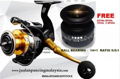 Malaysia alvion str spinning fishing reel