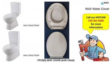 INAX / OFIA CF15(S) Soft Close Toilet Seat Cover