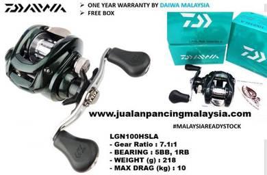Daiwa laguna high speed 100hsla casting reel