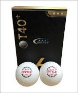 New Tuttle T40 ABS Table Tennis Ball (MSS Approve)