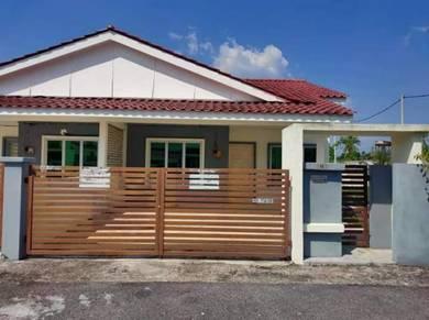 Single Storey Semi D Corner Lot Taman Halaman Indah Jawi For Sale