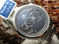 203) orient stylish and smart dual time ii wv0031x
