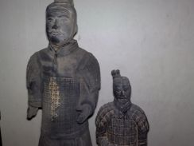 Patung vintage large terracotta warriors statue 2