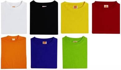 T Shirt Round Neck Stndard Cotton Plain Kid CT02XX
