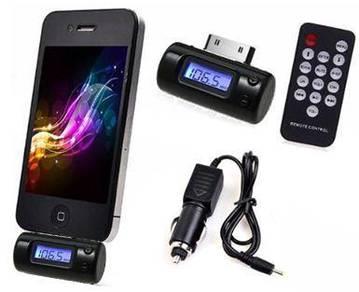 Universal FM Transmitter ipho3G, 4, 4S, iPad, iPod