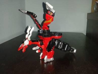 Gokai Machine Magi Dragon Power Ranger Megazord