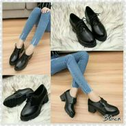 Casual Thick Heel Shoes (WFSXB11290)