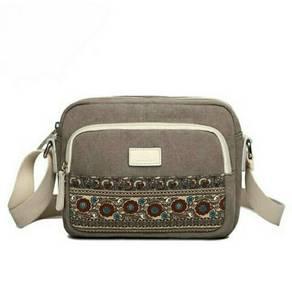 Women Canvas Sling Messenger Hand Bag. BDO000001