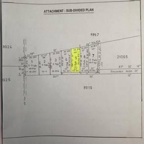Tanah lot untuk dijual di area putrajaya