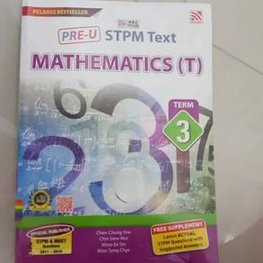 STPM Text Mathematics (T) Term 3