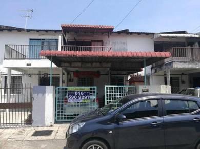 Menglembu 2 storey house at Taman Arkid
