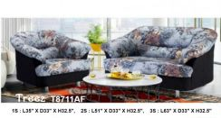 Furniture / Full Fabric 321 Sofa Set Model #T8711