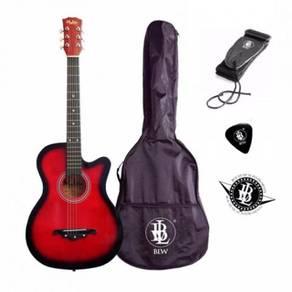Gitar Pakej-Percuma Bag & FREE Penghantaran(RED)