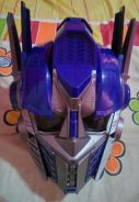 Transformers- Voice changing Optimus prime helmet
