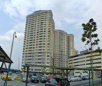 Apartment Larai Presint 6, Putrajaya (1,500 kaki unit tepi)