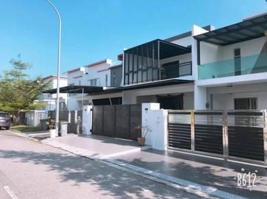 Dictyo Alba Setia Tropika double storey renovated unit Johor Bahru