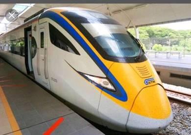 ETS Train Ticket, KL Sentral - Ipoh
