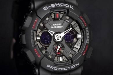 Watch - Casio G SHOCK GA120-1 BLACK - ORIGINAL