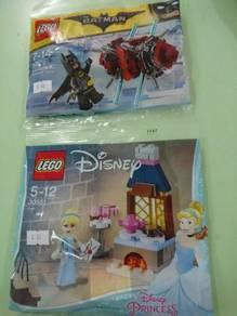 Lego - batman 30522 ; princess snow white 30551