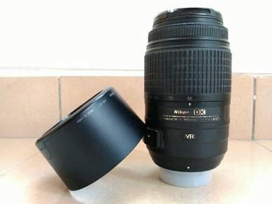AFS Nikkor 55 - 300mm f 4.5 - 5.6 G