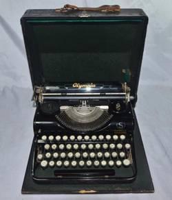Olympia simplex germany mechanical typewriter
