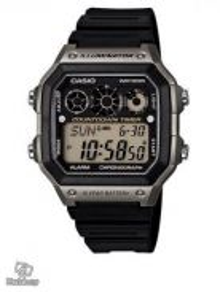Watch - Casio Chronograph AE1300-8A - ORIGINAL