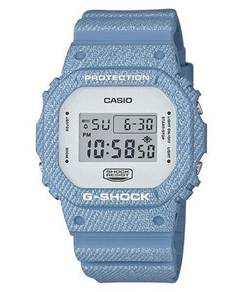 Watch-Casio G SHOCK JEANS DENIM DW5600DC -ORIGINAL