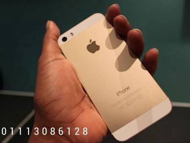 Iphone 5s 16gb rom hitam putih set ll