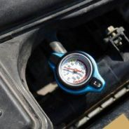 Radiator Cap with Water Temperature Meter