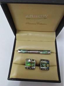 Cuff links button Berjenama Arrow U.S.A.Original