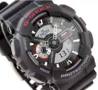 Watch- Casio G SHOCK GA110-1 BLACK -ORIGINAL