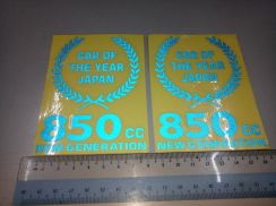 Stiker cutting 850cc blue
