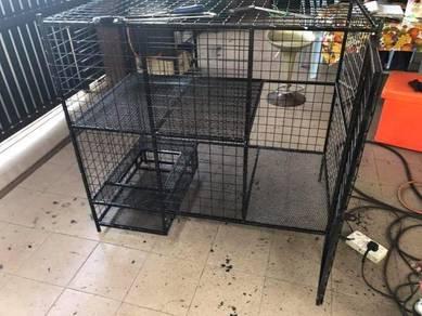 Sangkar kucing (Size 4 x 2 kaki)